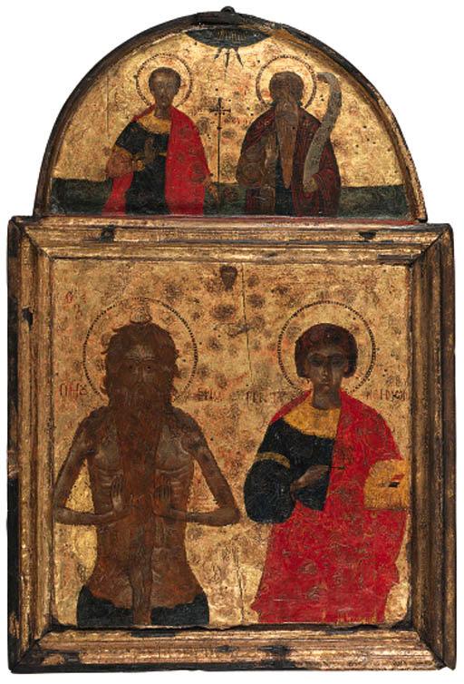Saints Onoufrios and Panteleim
