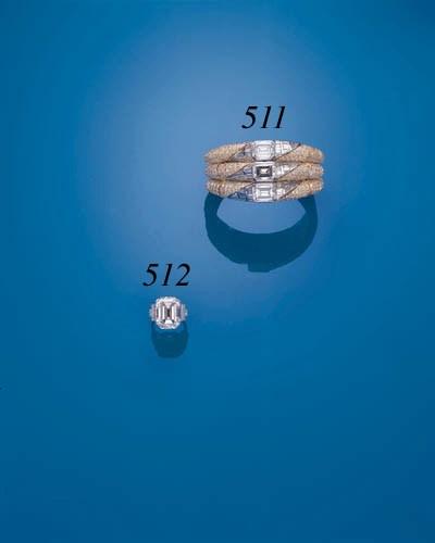AN IMPORTANT DIAMOND BANGLE, B