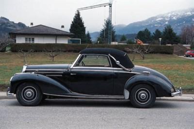 1952 MERCEDES-BENZ 220A CABRIO