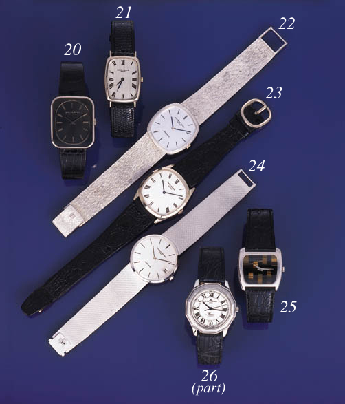 Baume & Mercier and IWC. A lot