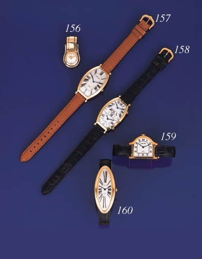 Cartier. An 18K white and 14K