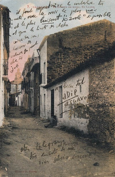 DALI, Salvador. Trois document