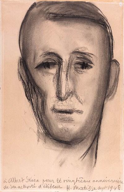 MATISSE, Henri. Portrait d'Alb