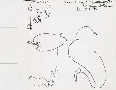 PICASSO -- Picasso. Dessins en