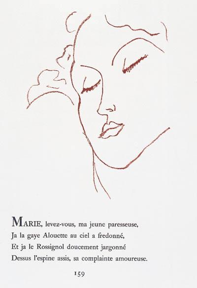 RONSARD. Florilge des amours.