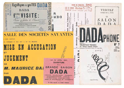 DADA -- Exposition DADA. Max E