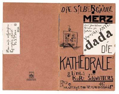 SCHWITTERS, Kurt. Die Kathedra