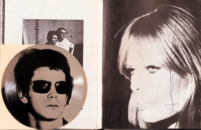 WARHOL, Andy. Index Book. New