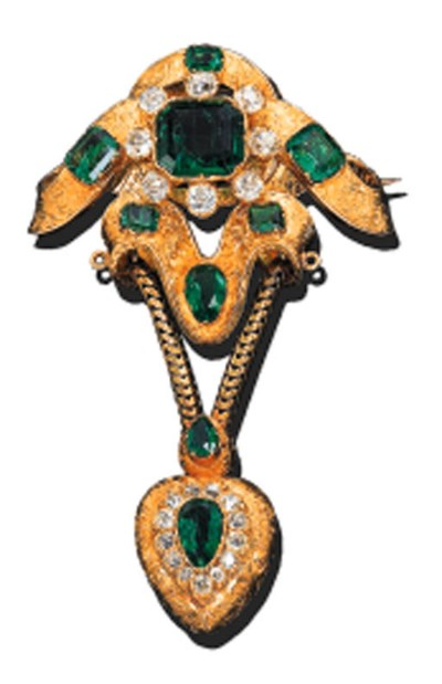 AN EMERALD AND DIAMOND STOMACH