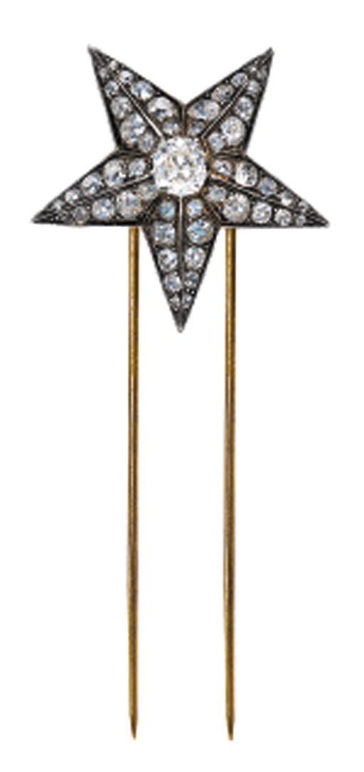 A DIAMOND STAR HAIR ORNAMENT