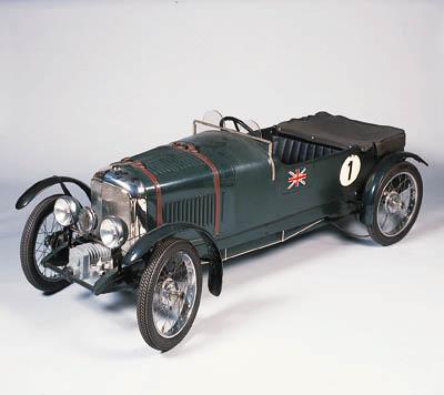Bentley 4  Le Mans - A motoriz