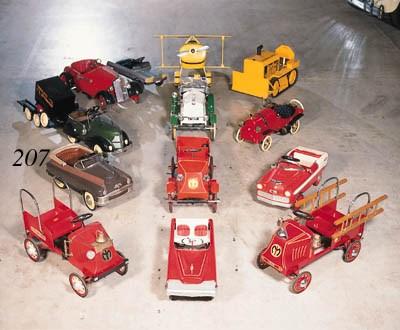 Pontiac - A child's pedal car