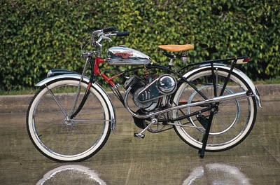 The Whizzer - A motorised bicy