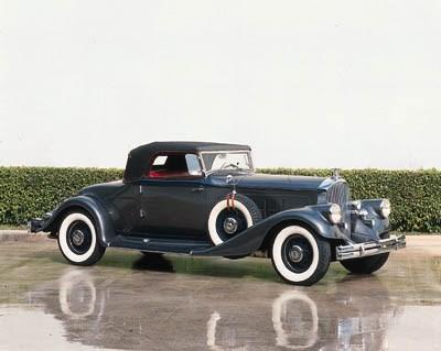 1933 PIERCE-ARROW V12 CONVERTI