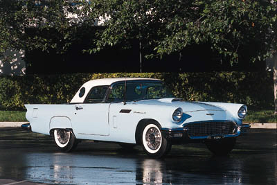 1957 FORD THUNDERBIRD FACTORY