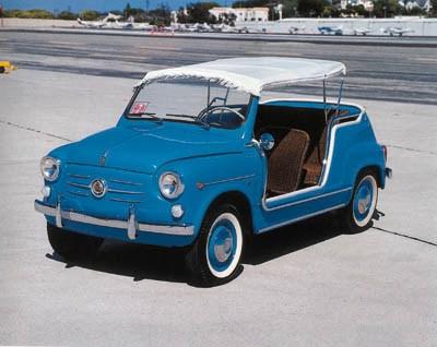 1962 FIAT JOLLY 600