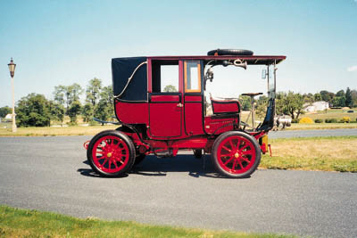 1904 MORS LANDAULET TOWN CAR