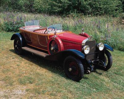 c.1925 HISPANO-SUIZA H6B SKIFF