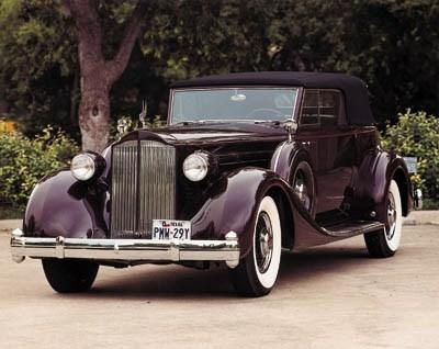 1935 PACKARD 1207 V12 CONVERTI