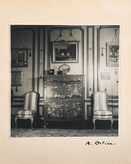 A PHOTO ALBUM OF THE INTERIORS