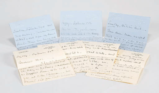 A COLLECTION OF FIVE AUTOGRAPH