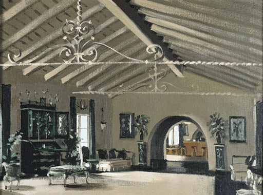 'AFTER ALL, LIVING ROOM', AN O