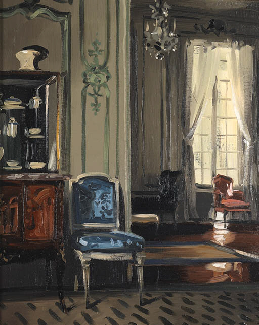 'THE SALON, 'VILLA TRIANON'',