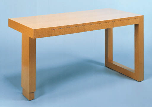 AN OAK DESK