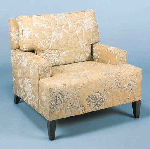 AN UPHOLSTERED