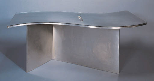A BRUSHED-STEEL