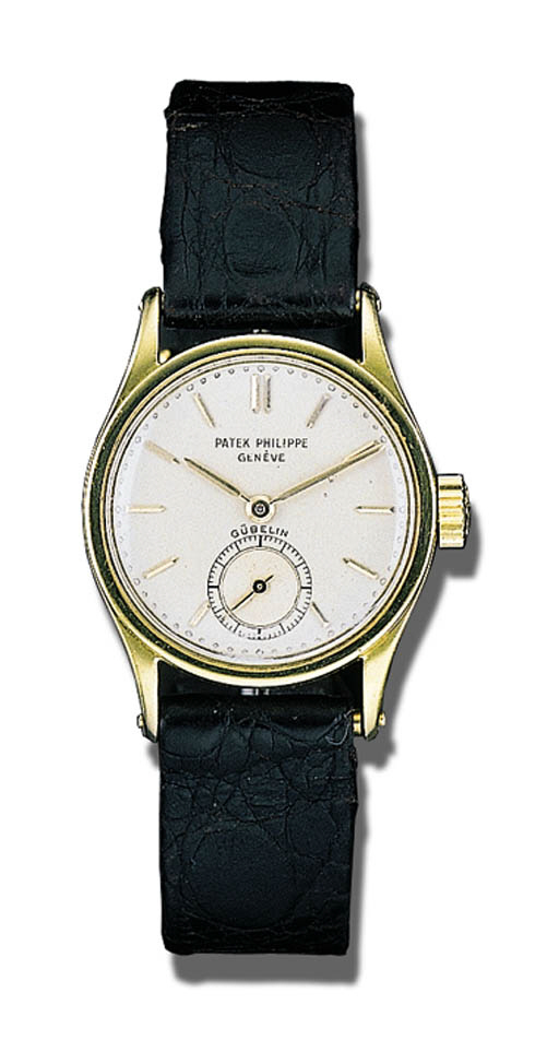 A GOLD WRISTWATCH, PATEK PHILI