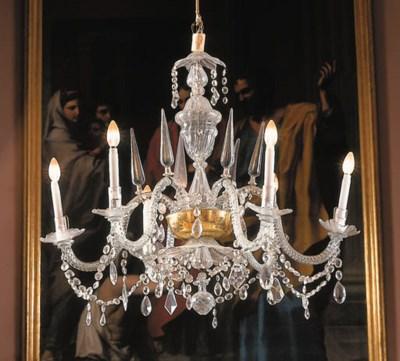 Araa italiana en cristal talla