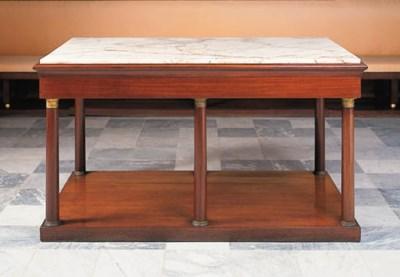 Mesa de centro rectangular esp