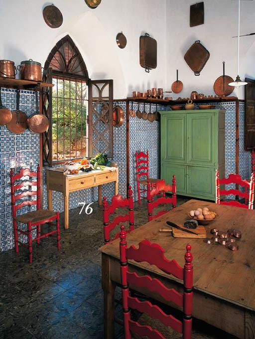 Mesa de cocina mallorquina en