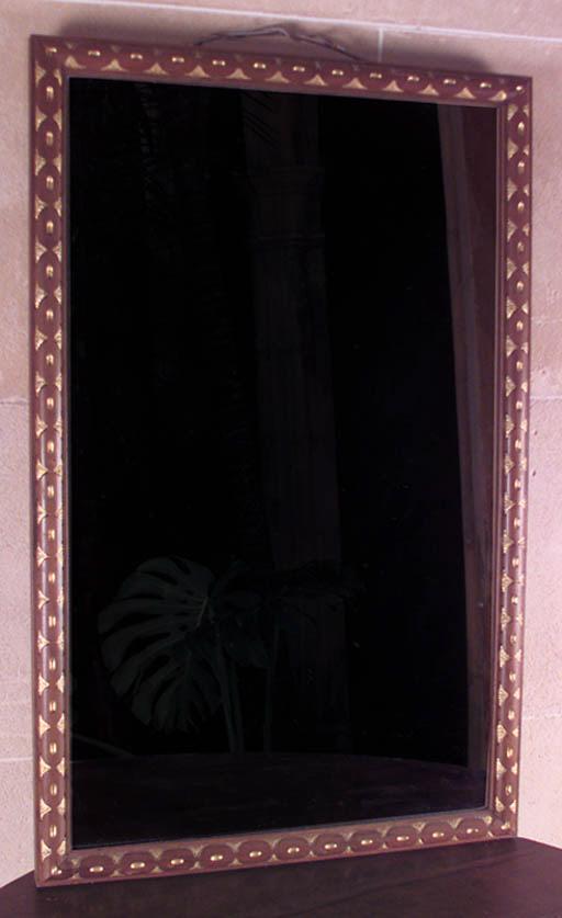 Espejo espaol en madera de nog