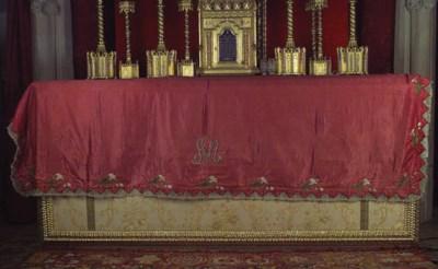 Cubierta de altar