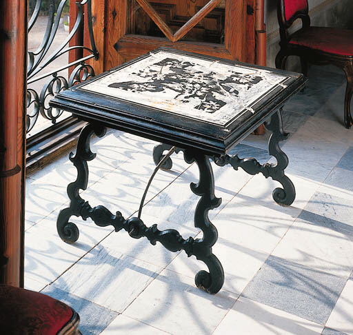 Tapa de mesa italiana en