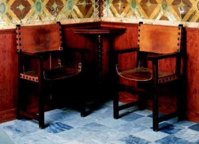 Juego de seis sillones frailer