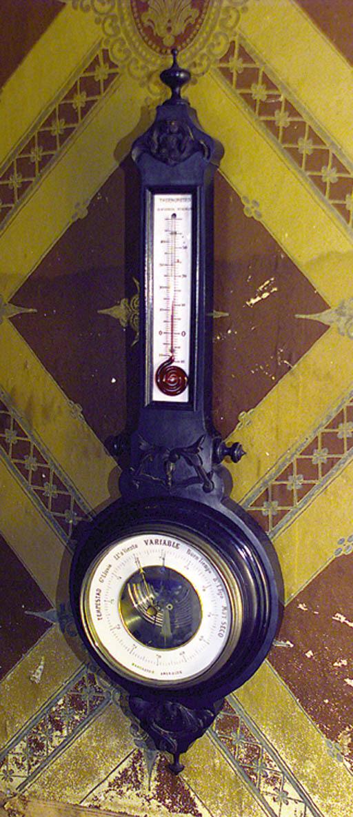 Barmetro de rueda aneroide ebo
