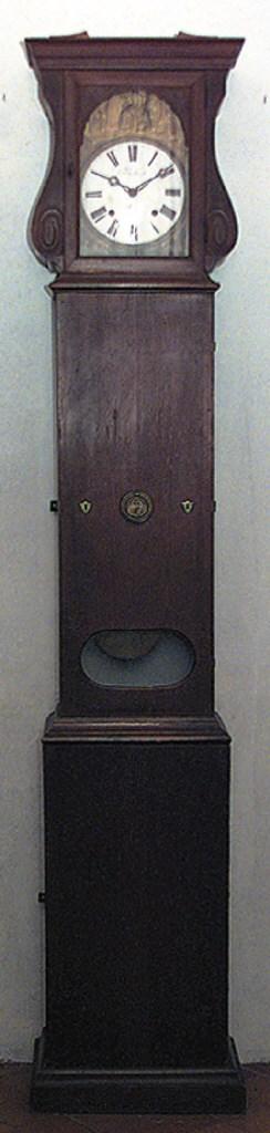 Reloj de caja alta francs