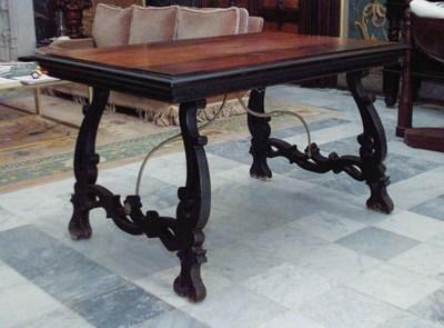 Mesa de centro en madera de no