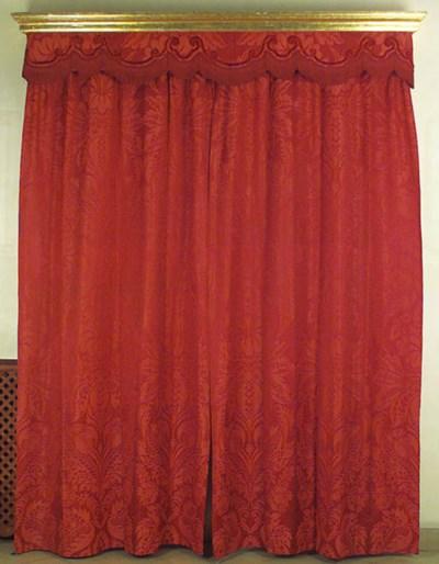 Tres parejas de cortinas