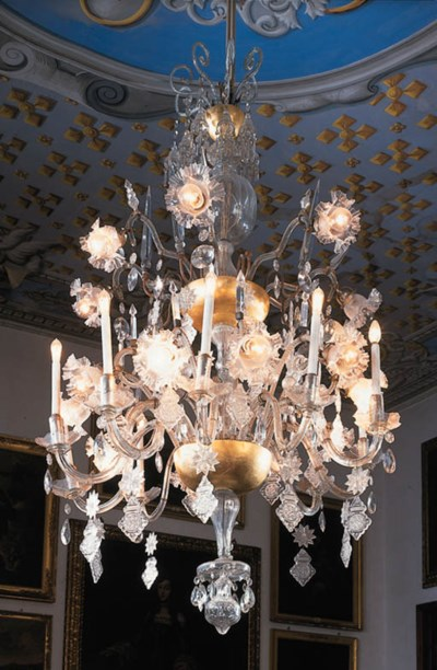 Araa veneciana en cristal tall