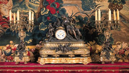 Guarnicin Napolen III de bronc