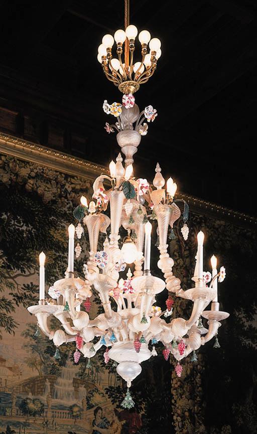 Araa veneciana en cristal mate