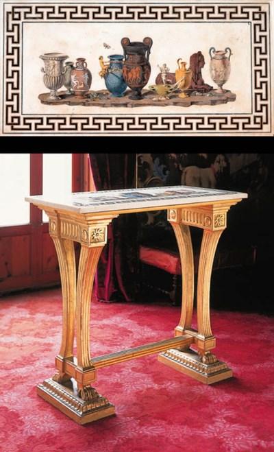 Pareja de mesas italianas de s