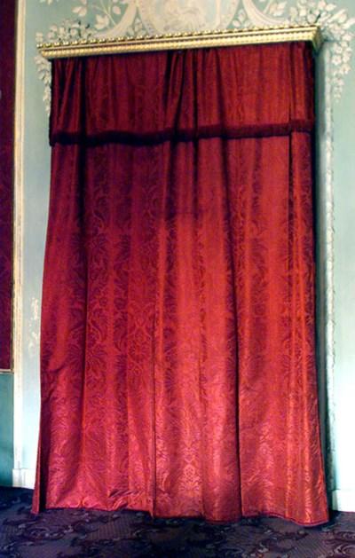 Dos parejas de cortinas en dam