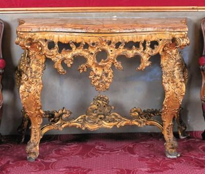 Consola espaola, Carlos III, e