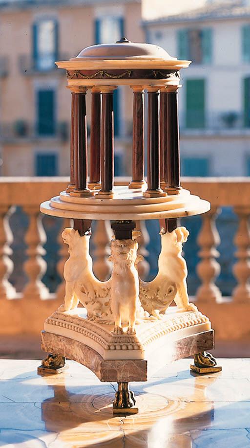 Centro de mesa romano en difer