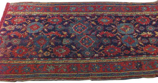 Dos alfombras Ushak